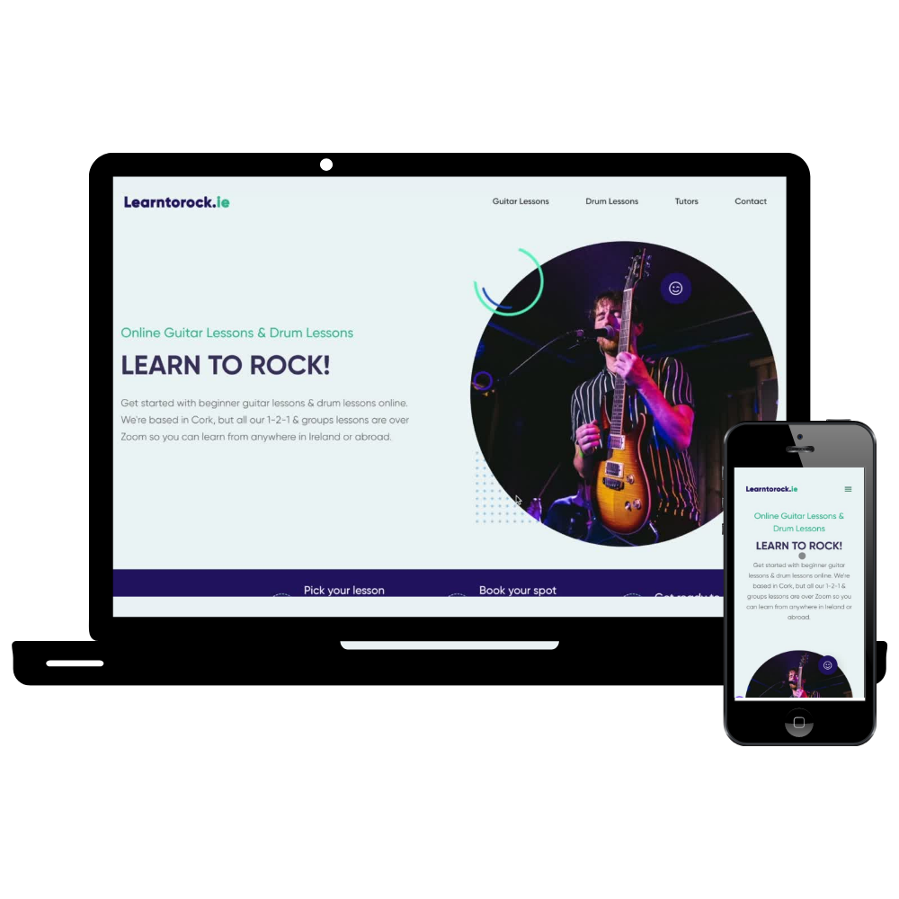 Learn to Rock Web Design Cork Simple Sites
