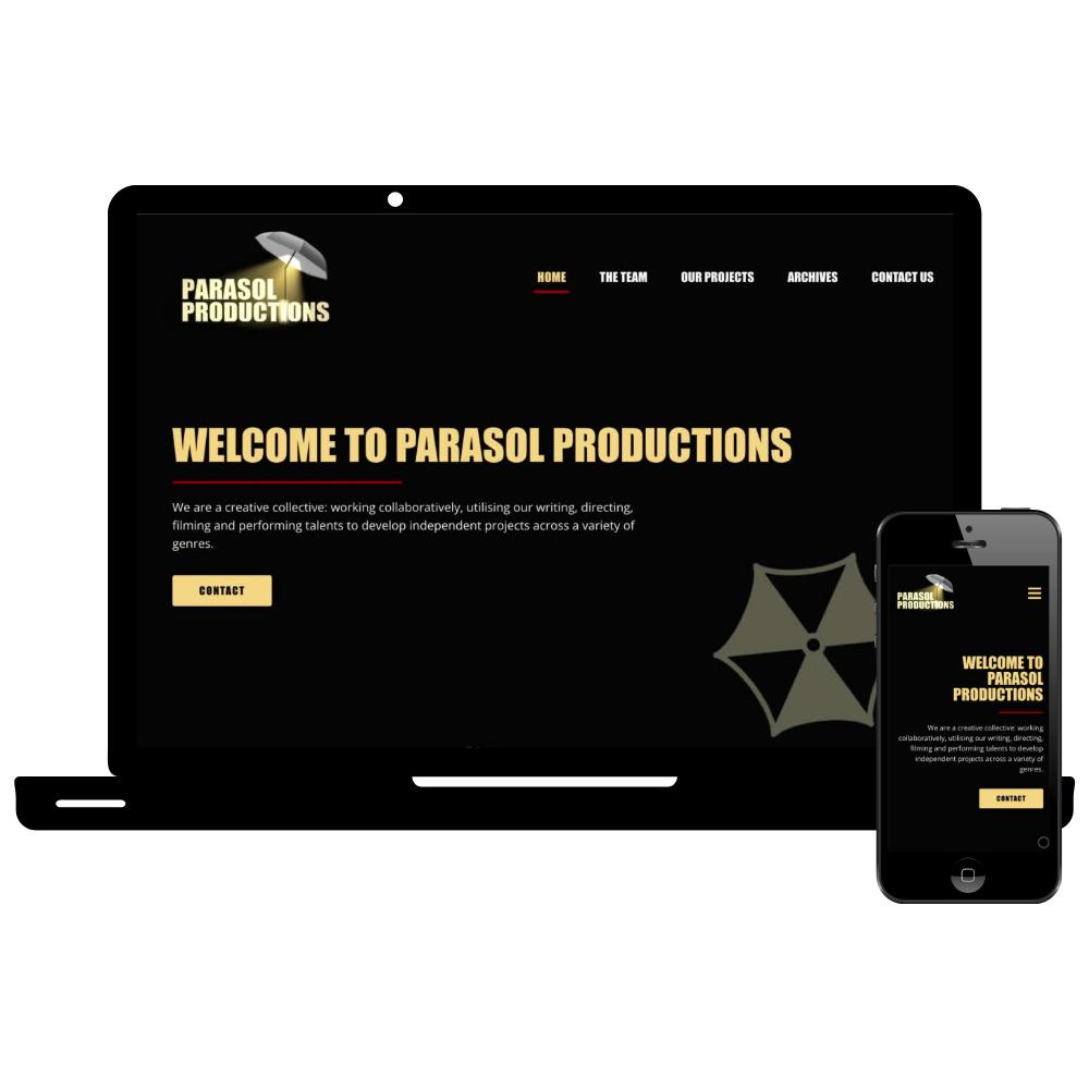 Simple Sites Parasol Productions Web Design